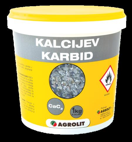 KALCIJEV KARBID 7 - 14 MM 1 KG - AGROLIT