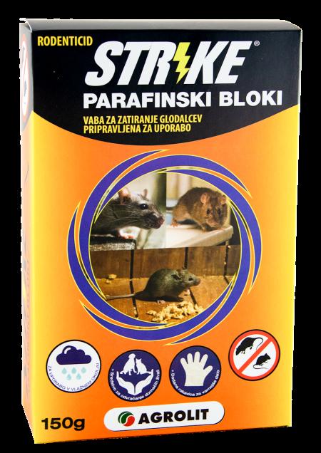 STRIKE PARAFINSKI BLOKI 150G - AGROLIT