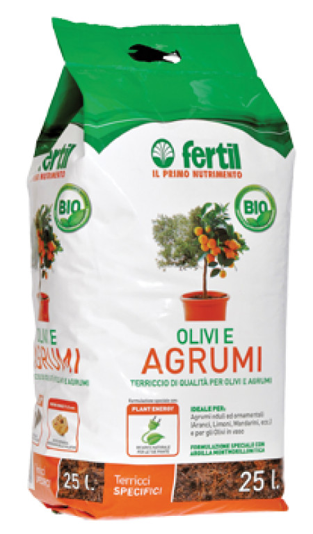 ZEMLJA 25L ZA CITRUSE IN OLIVE - AGROLIT